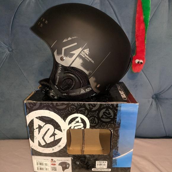 eda2d52284f NIB K2 Ski Helmet L XL Black